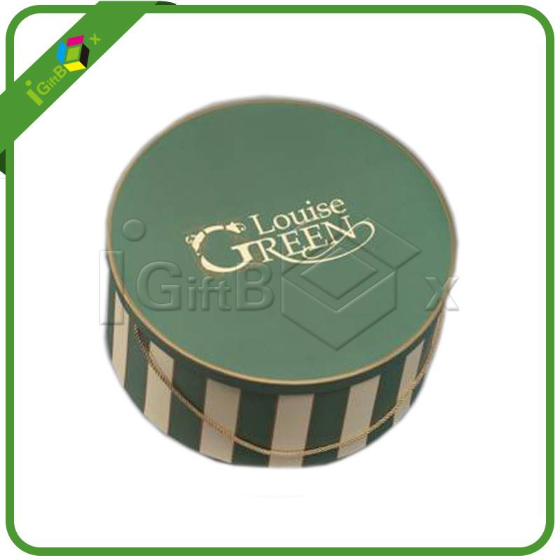 Custom Design Cardboard Round Box