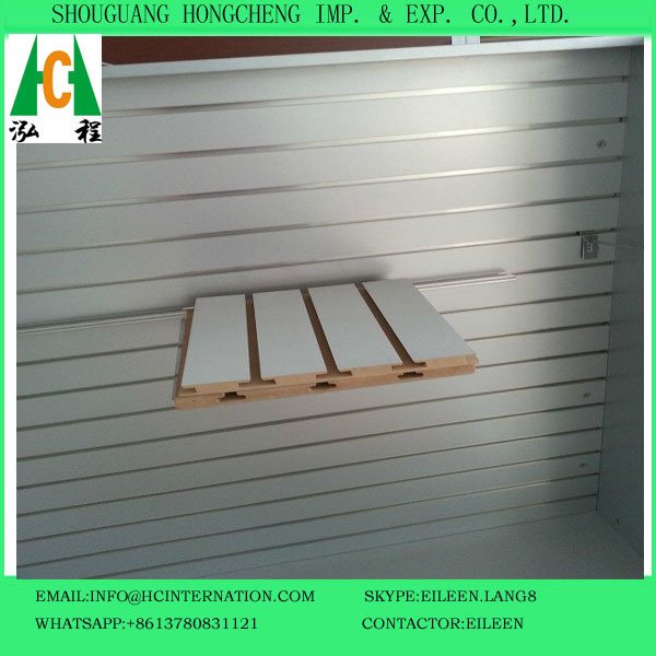 Melamined Slotte MDF for Sale