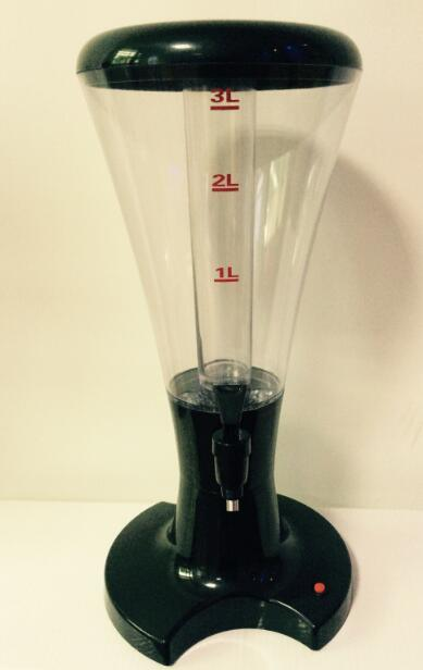 Factory Directly 3L Plastic LED Beer Tower