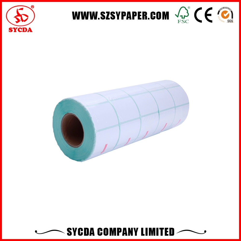Thermal Adhesive Label Paper/Customized Vinyl Destructive Sticker