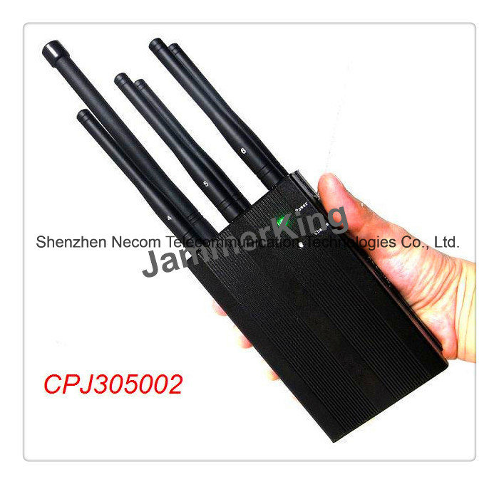 China Portable High Power Car Remote Control Jammer (315/433MHz) , GPS Mobile Phone Jammer Antenna (6PCS) - China Handheld Jammer, Signal Jammer