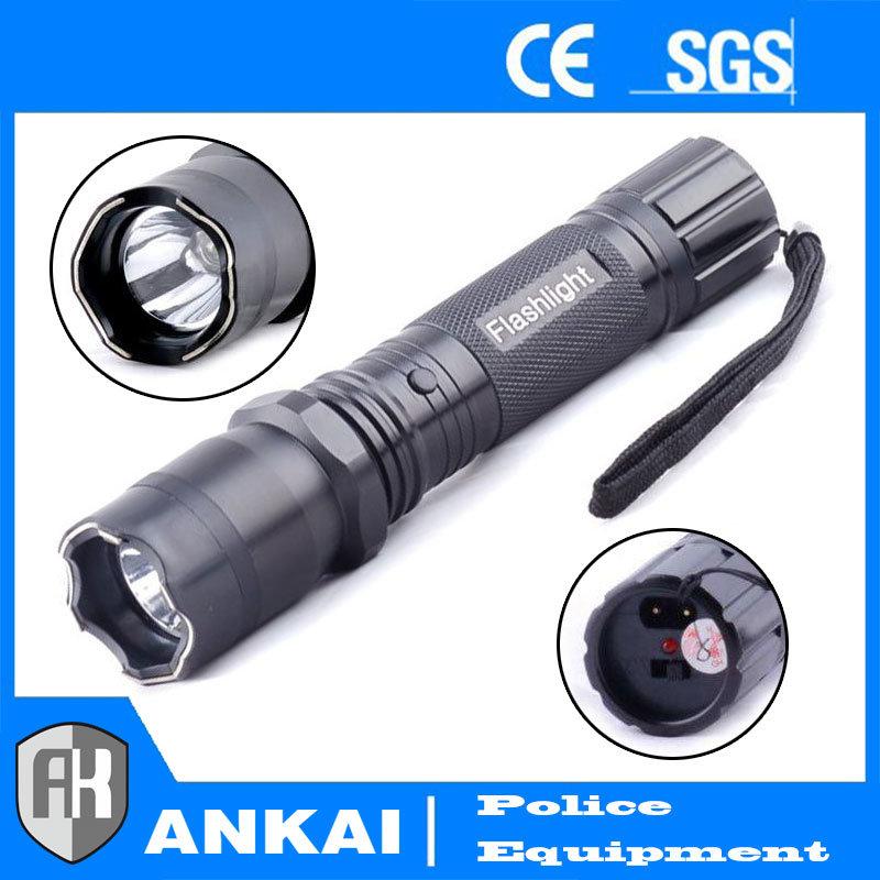 Police Aluminium Alloy Stun Gun with Electric Shock Self-Defense 1101