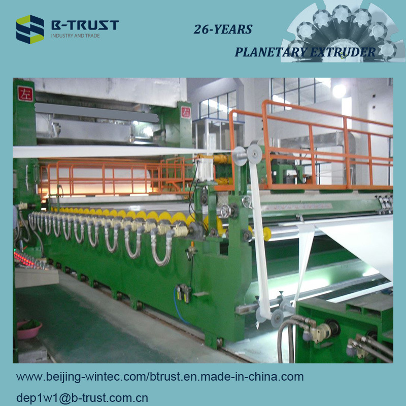5 Roll PVC Calendering/Calender Line with Planetary Extruder