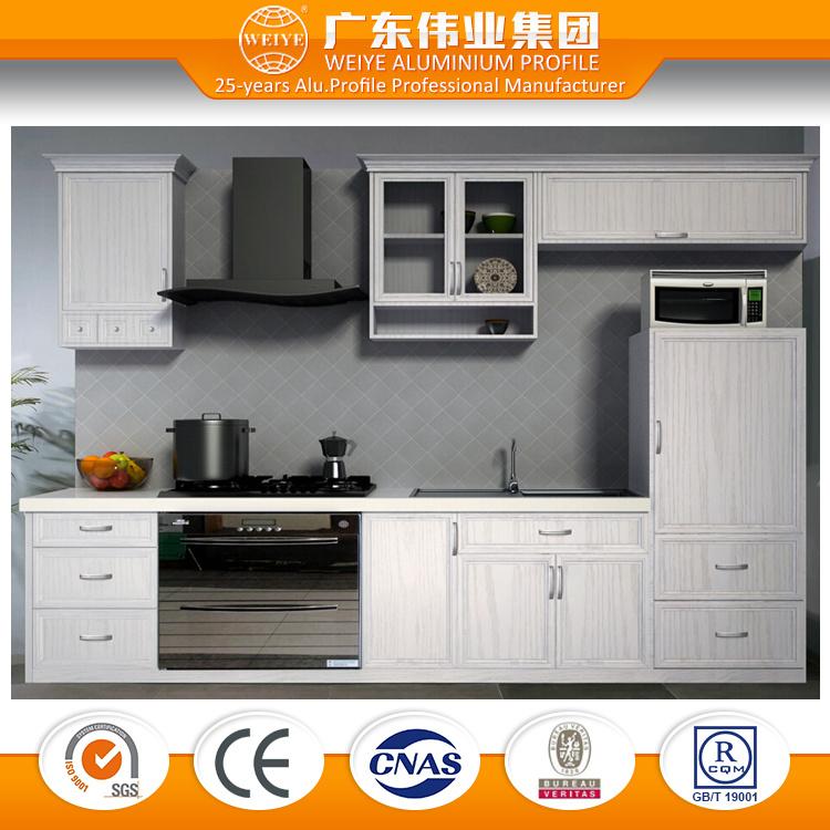 Kitchen Cabinet Made in Aluminium 6063, Customized Design Aluminium Cabinet