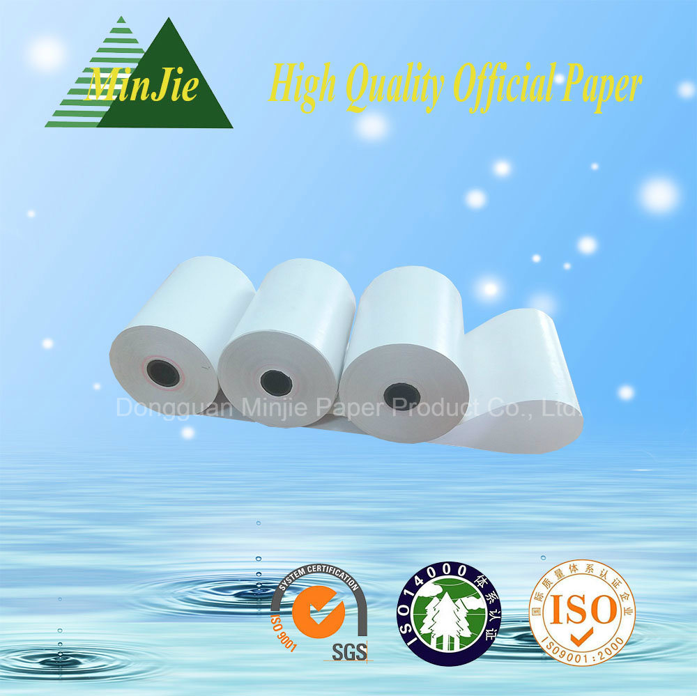 Cash Register Paper Type 55GSM Glossy Thermal Paper Rolls POS Printer Paper Roll