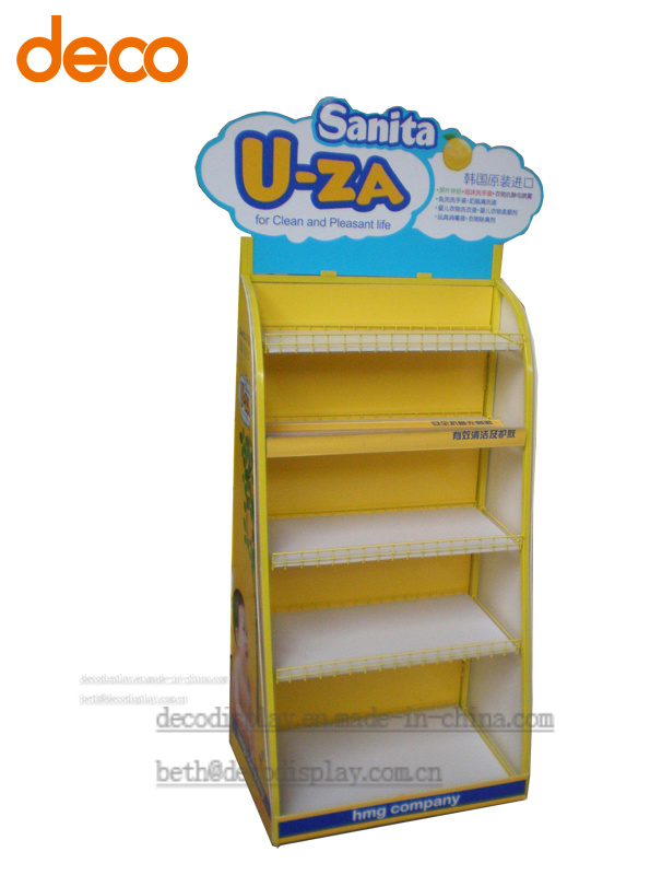 Pop up Display Stand Metal Display Shelf Floor Display Stand