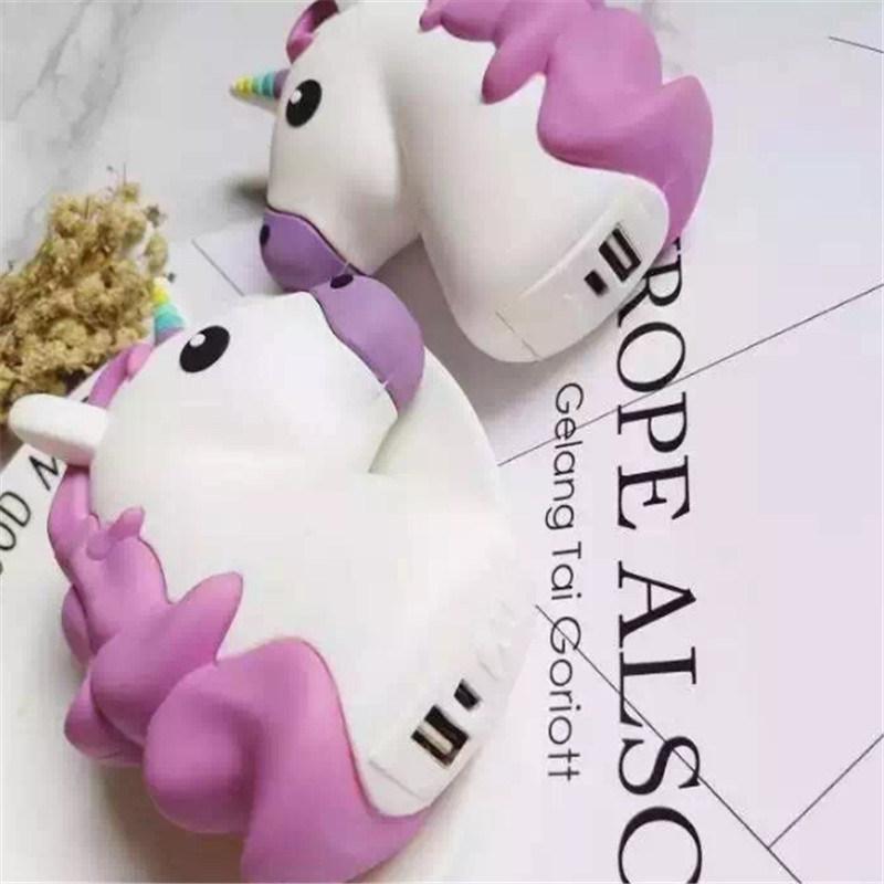 Fashionable 2600mAh Unicorn Power Bank Mobile Phone Accessories