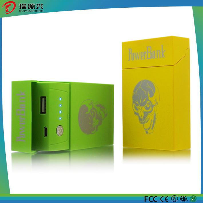 Private Model Cigarette Box Shape Portable Power Bank 4000mAh