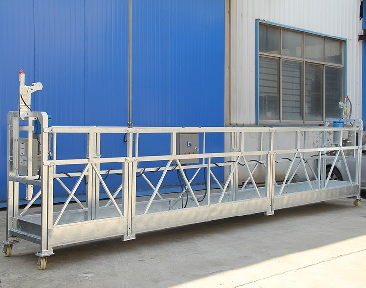 Zlp630 Powder Coating Steel Window Cleaning Construction Gondola