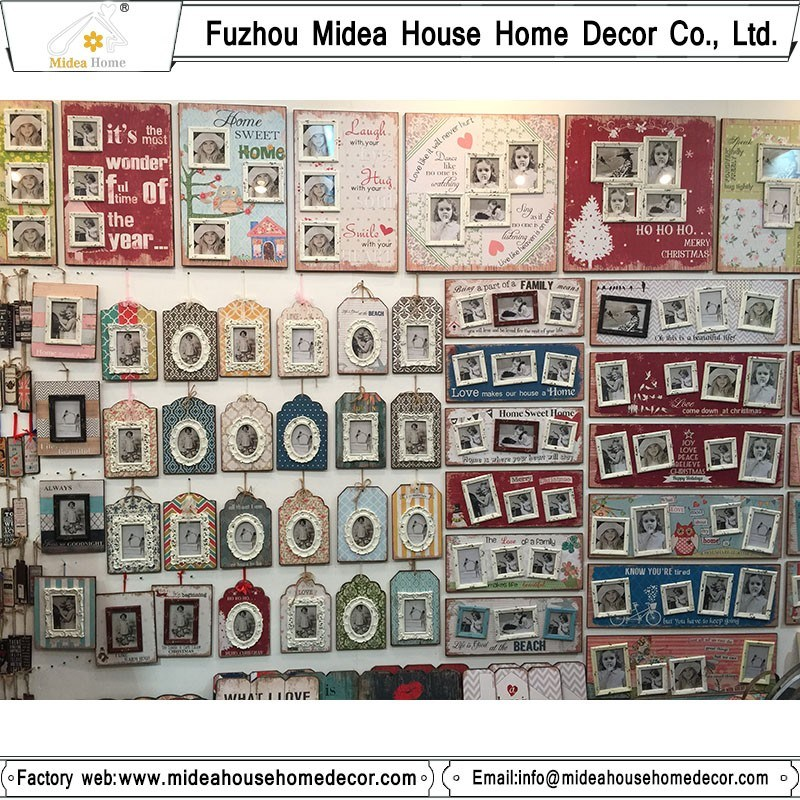Wooden Picture Frame Home Decor Latest Personalized Photo Frames Wholesale