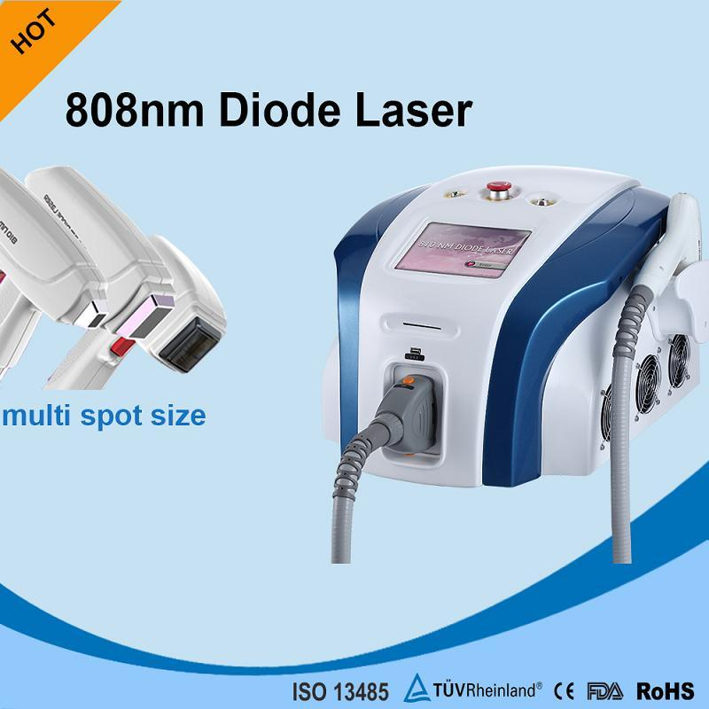 Portable 808 Diode Laser for Painless Skin Hair Removal