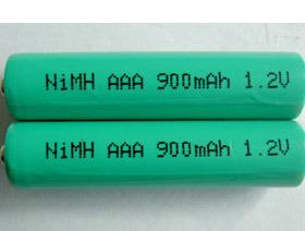 Rechargeable 1.2V 900mAh AAA Ni-MH Battery
