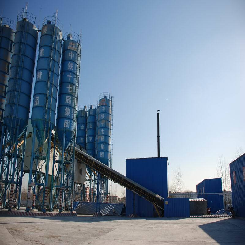 China Factory High Efficient Hls Concrete Mixing Plant for Sales