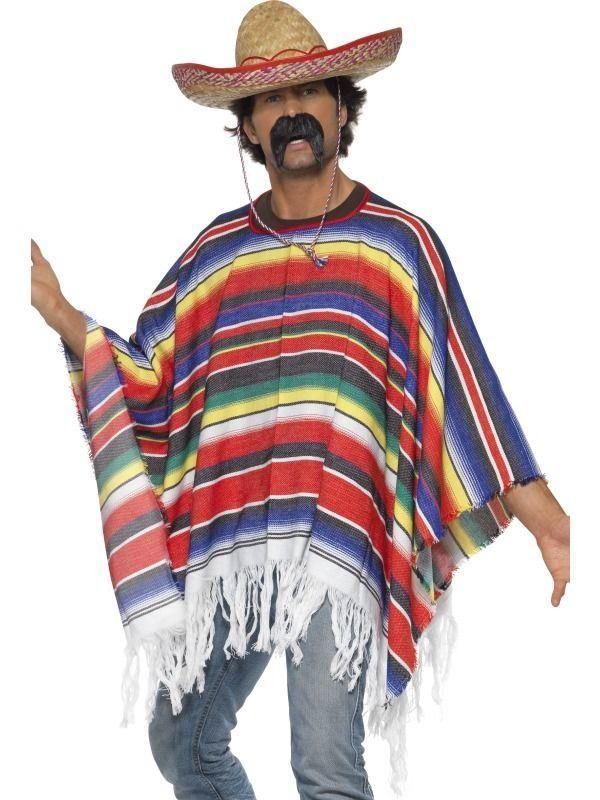 Mexican Serape Cinco De Mayo Costume Cinco De Mayo Fancy Dress