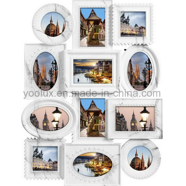 Plastic Multi Openning Picture Photo European Collage Frame