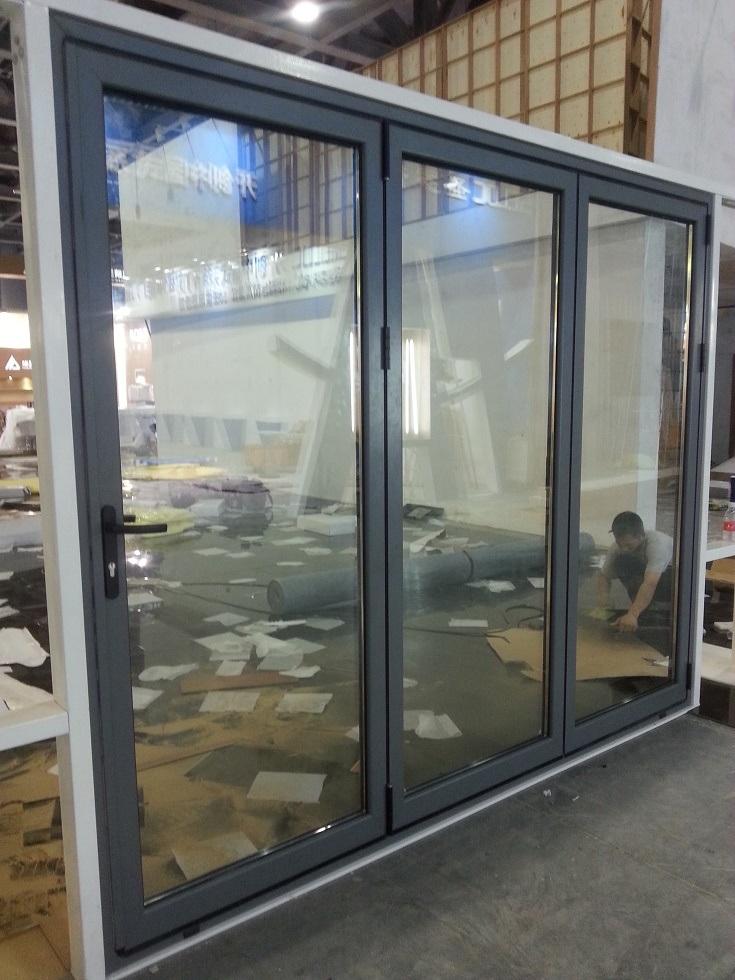 Aluminium Glass Folding Door/Folding Window