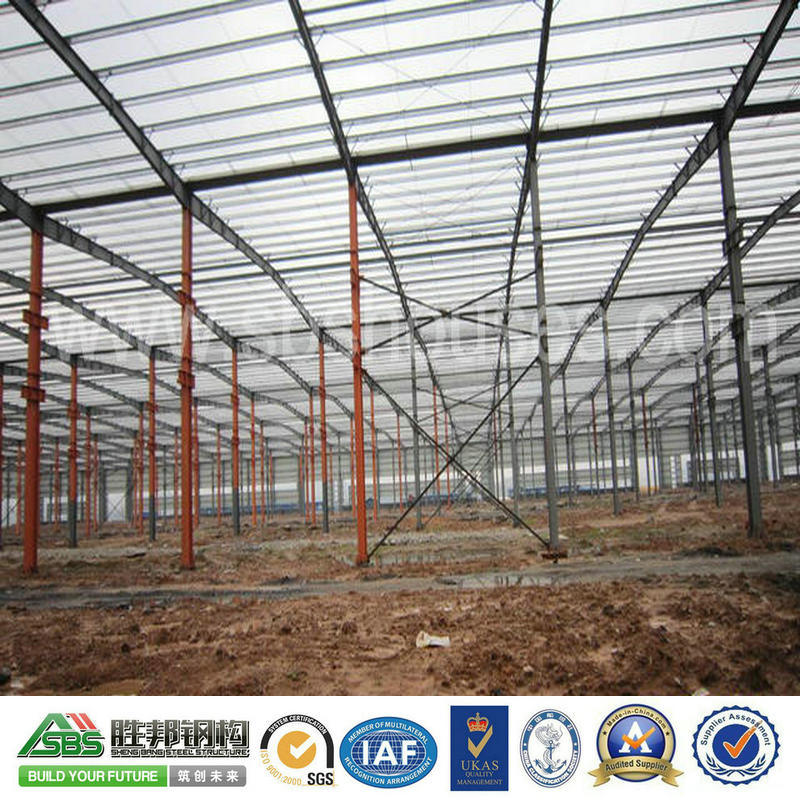 Professional Building for Prefab Steel Structure Gym