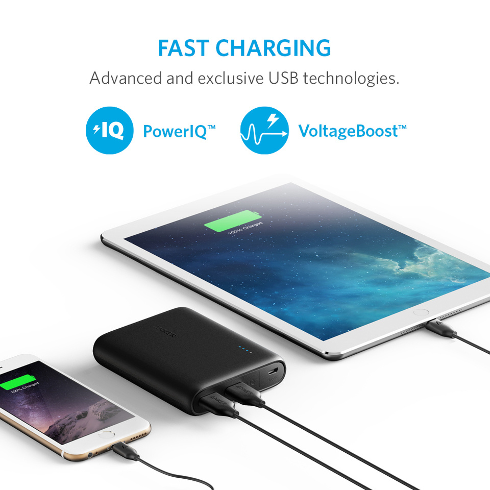 Anker Powercore 10400 Portable Charger Powerbank