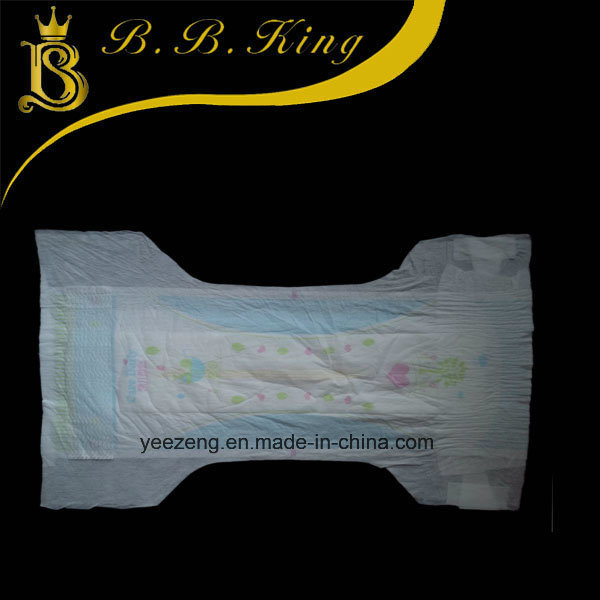 Breathable Baby Diaper with Leak Cuffs Factory Supplying