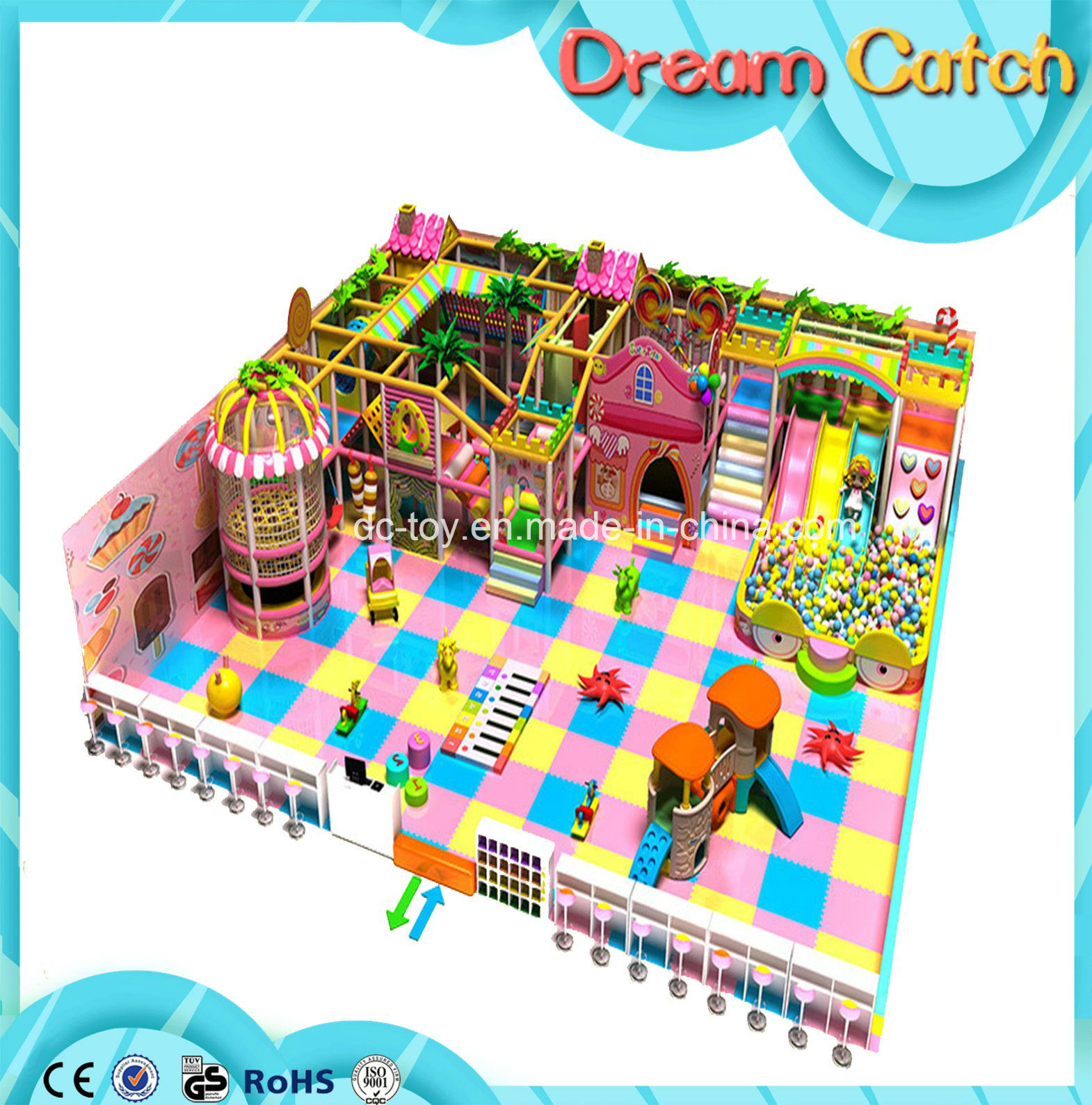 2017 Children Soft Indoor Playground for Sale