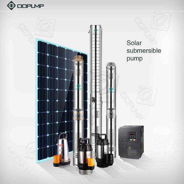 4sp DC Solar Submersible Pump Solar Water Pump