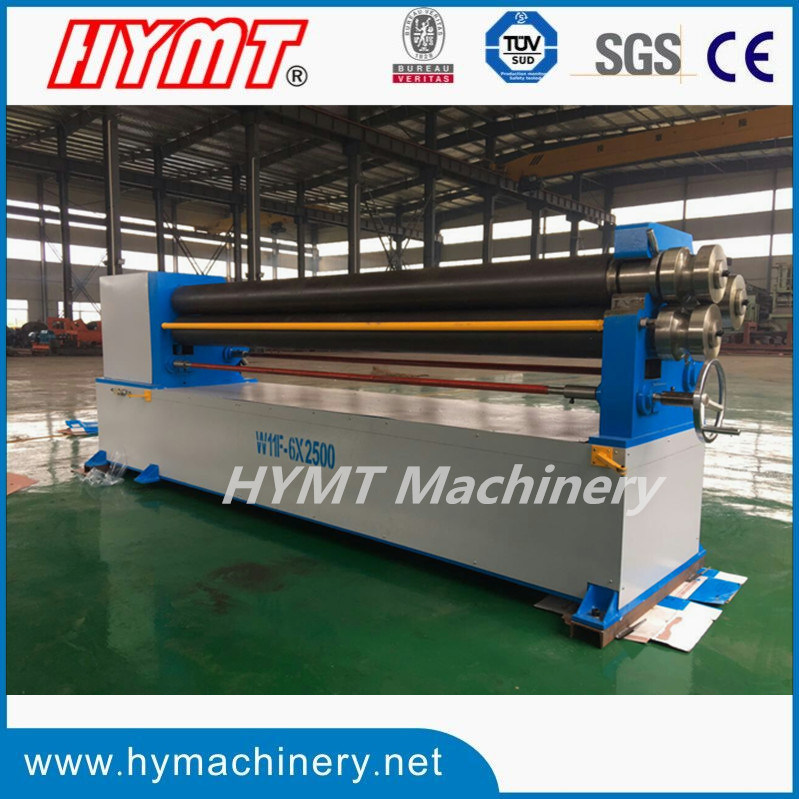 W11F-6X2500 Series Mechanical 3-Roll Asymmetric Rolling Machine