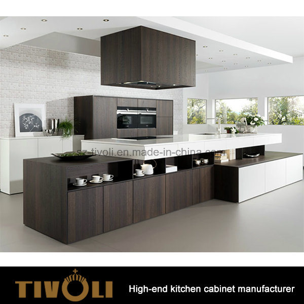 High Gloss Painitng and Veneer Pantry Cabinets for Kitchen Furniture Tivo-0234h