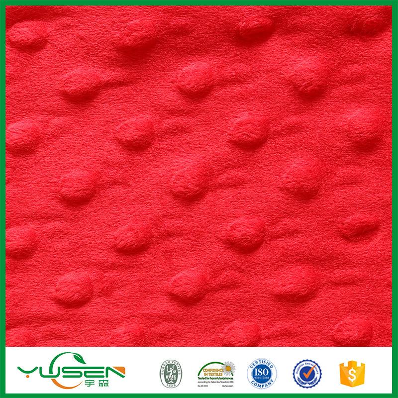 China Textile 100% Polyester Velvet Upholstery Fabric
