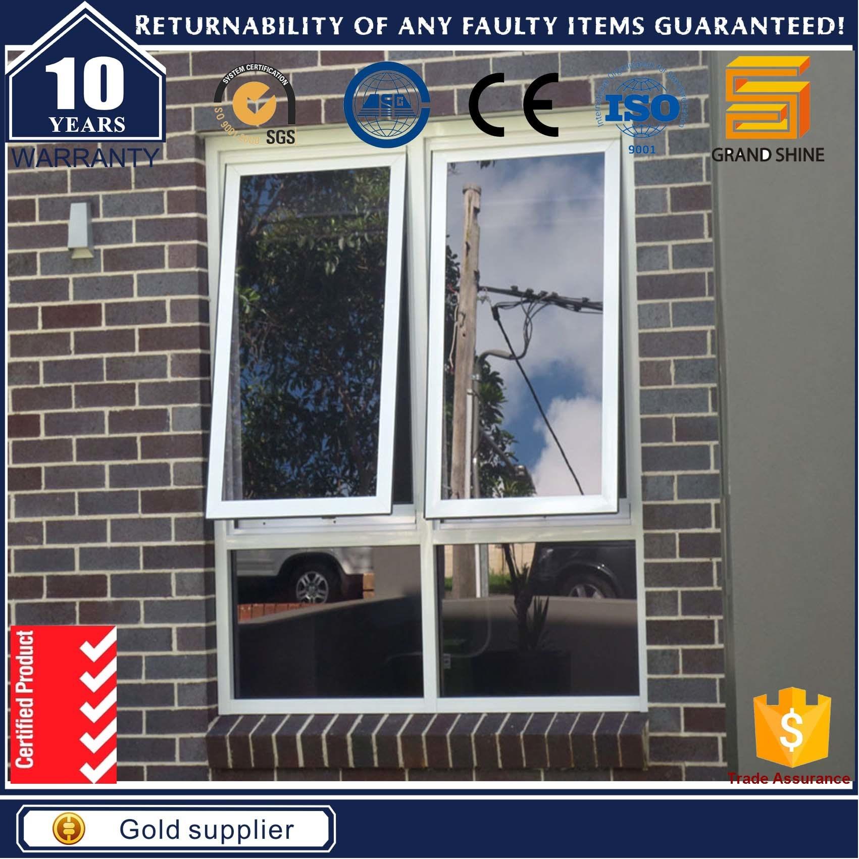 New Design Window Opening System Aluminium Windows