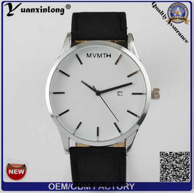 Yxl-552 2016 Fashion Man and Women Business Wrist Leather Mvmt Style Quartz Watch