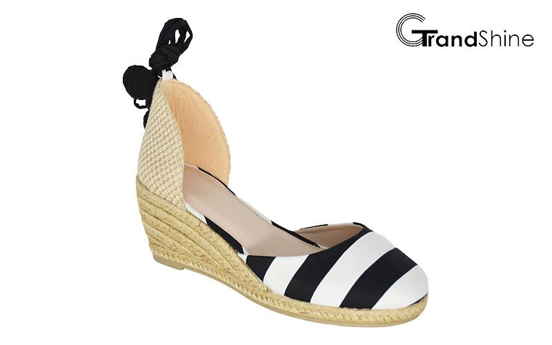 Women′s Fashion Espadrille Wedge Sandals