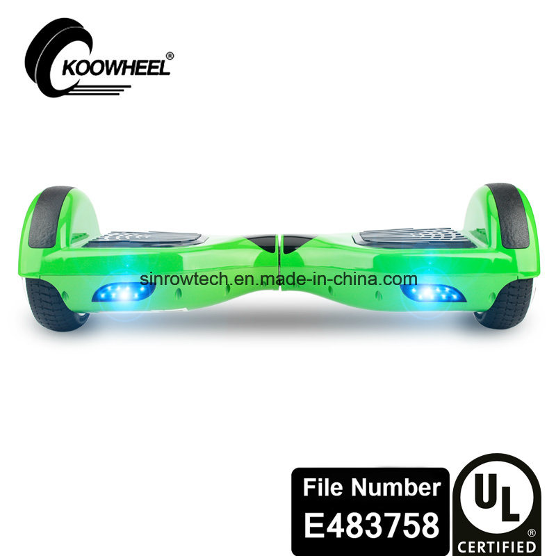Six Colors Koowheel UL2272 Certificate 6.5 Inch Hoverboard for Kids