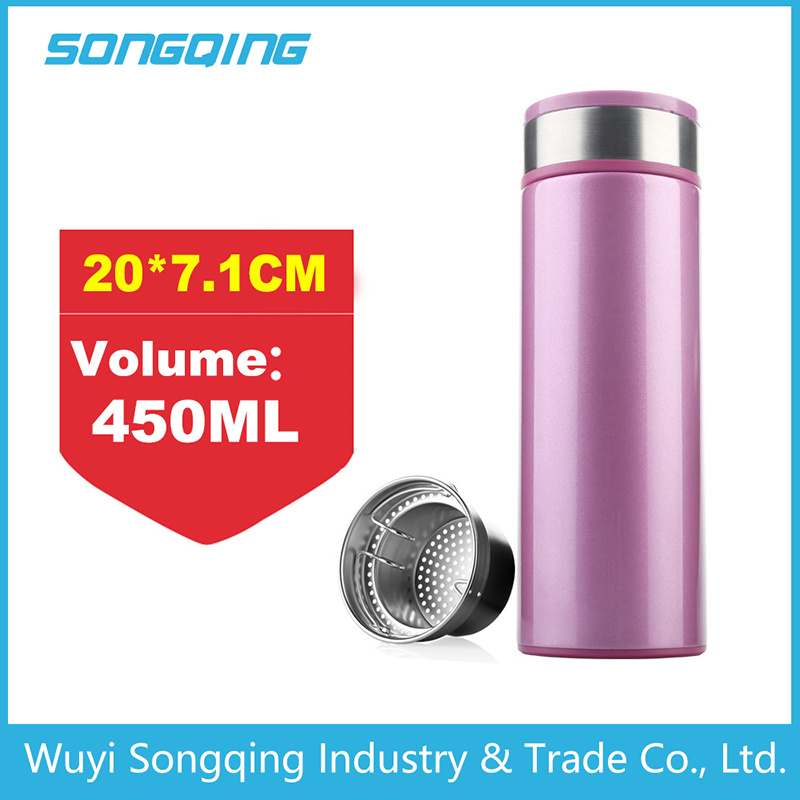 Double Wall Stainless Steel Thermos/Stainless Steel Vacuum Flask/Thermos Bottle
