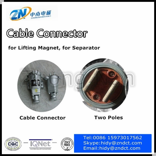 High Quality Cable Connector, Lifting Magnet Connection