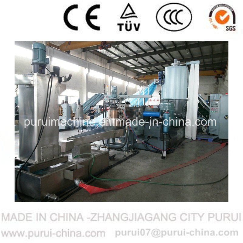 Whole Roll Film Plastic Recycling Agglomerator for Recycling Waste Edge