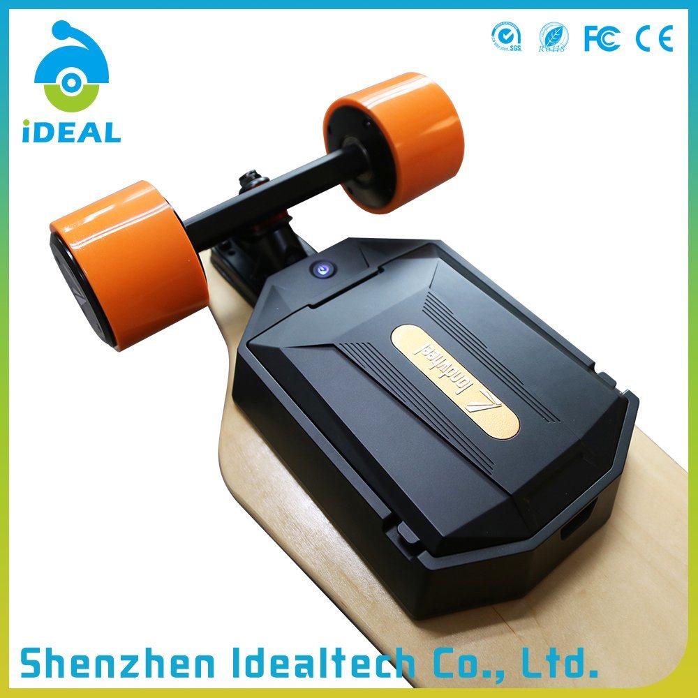 Smart 4 Wheels 2*1100W 35km/H Brushless Motor Longboard Electric Skateboard