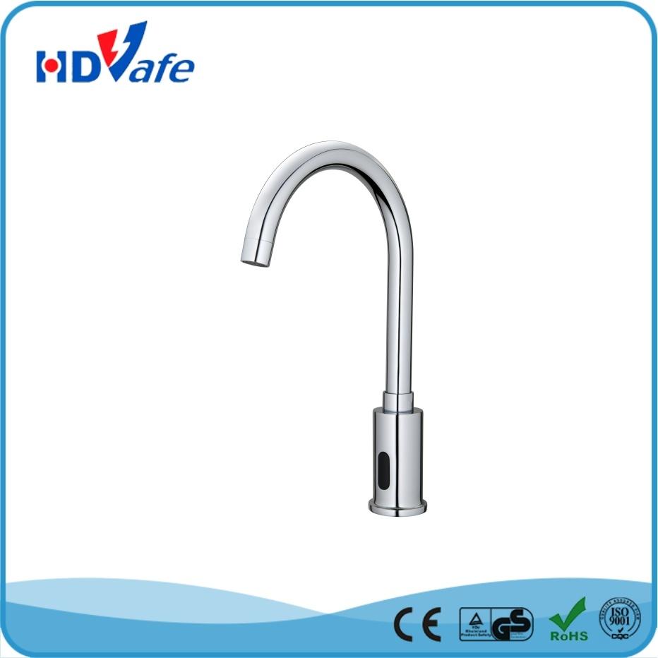Geeo Goose-Neck Automatic Sensor Faucet Kitchen Basin Sensor Tap HD510