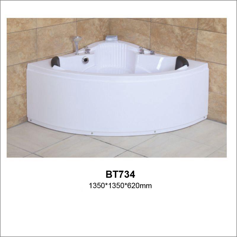 ABS Indoor Whirlpool Bathtub