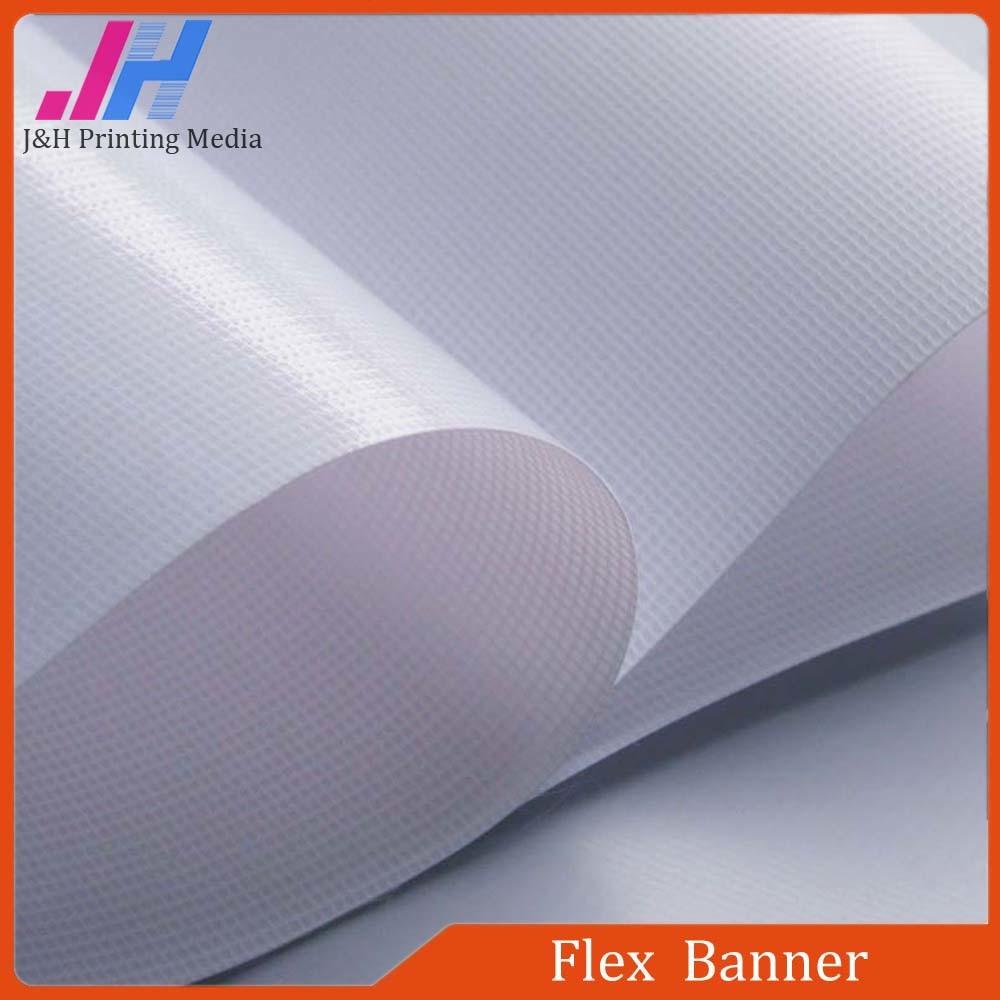 340GSM Glossy Frontlit PVC Flex Banner for Solvent Printing