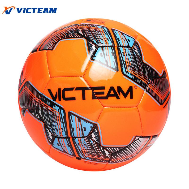 Official Size 5 4 3 Custom Print Drill Soccer Ball