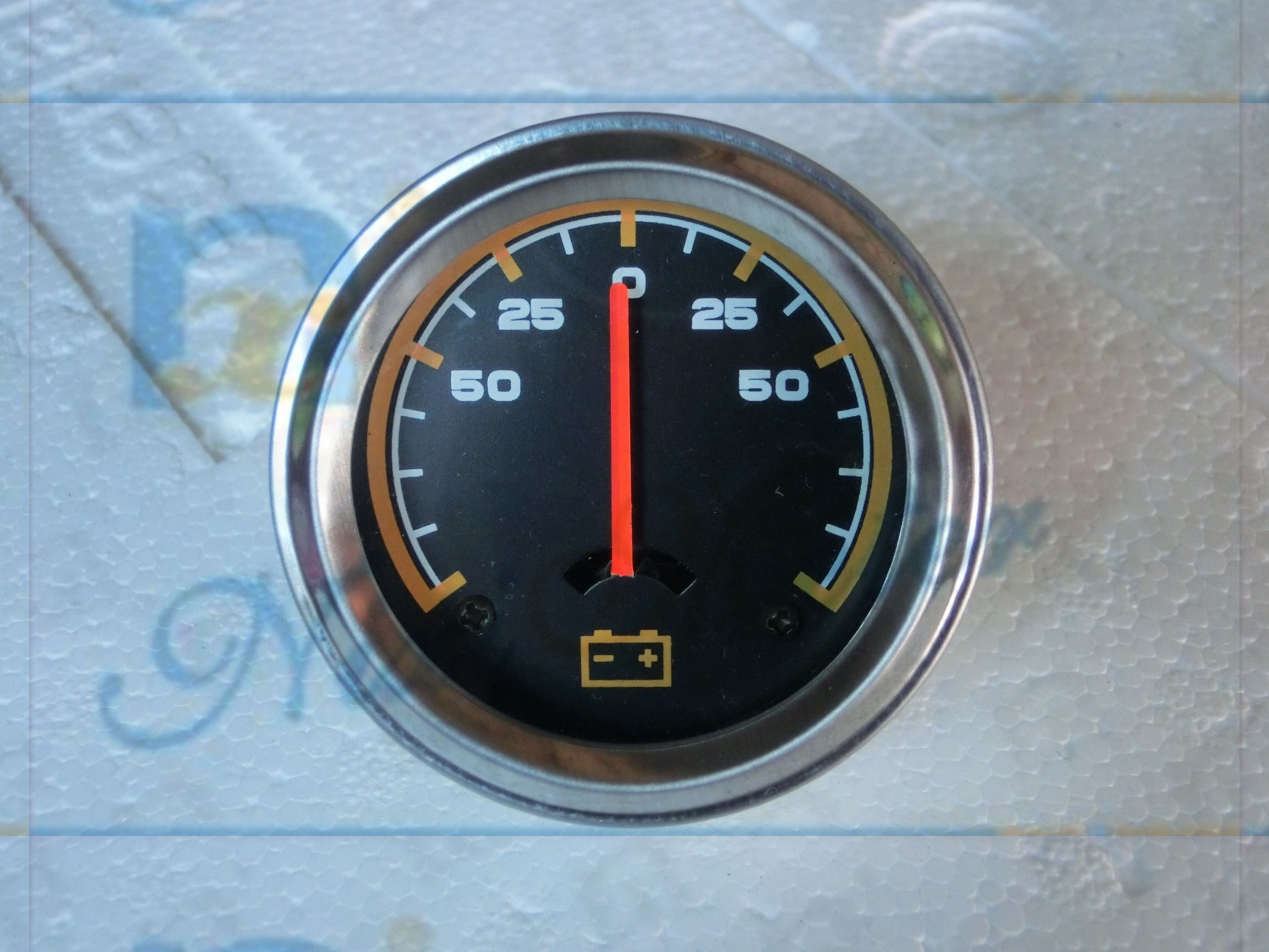 Universal Auto and Agricultural Ampere Gauge