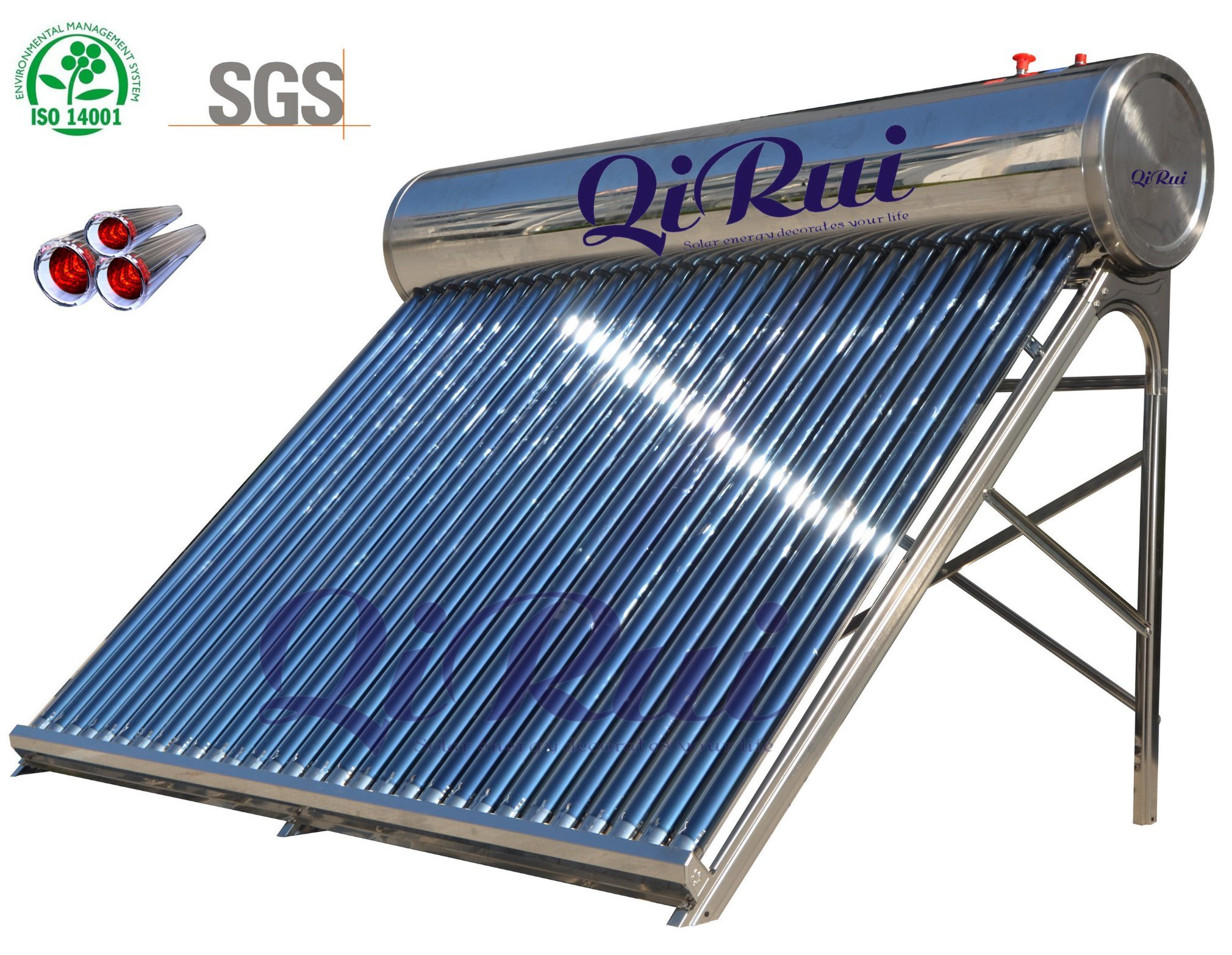 Unpressurized Vacuum Tube Solar Water Heater (CNP-58)