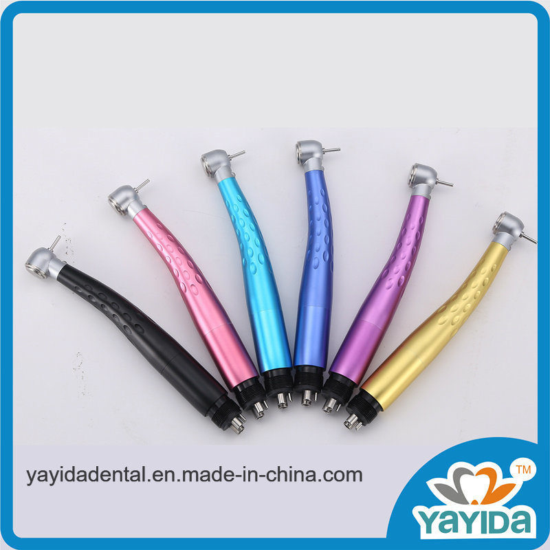 Colorful LED Handpiece with Generator Made From Aluminium Material