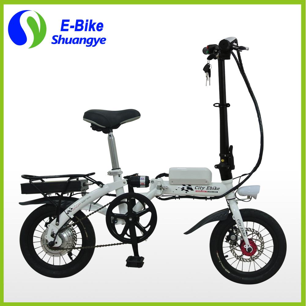 14 Inch Shuangye Cheap Mini Motorized Bicycle