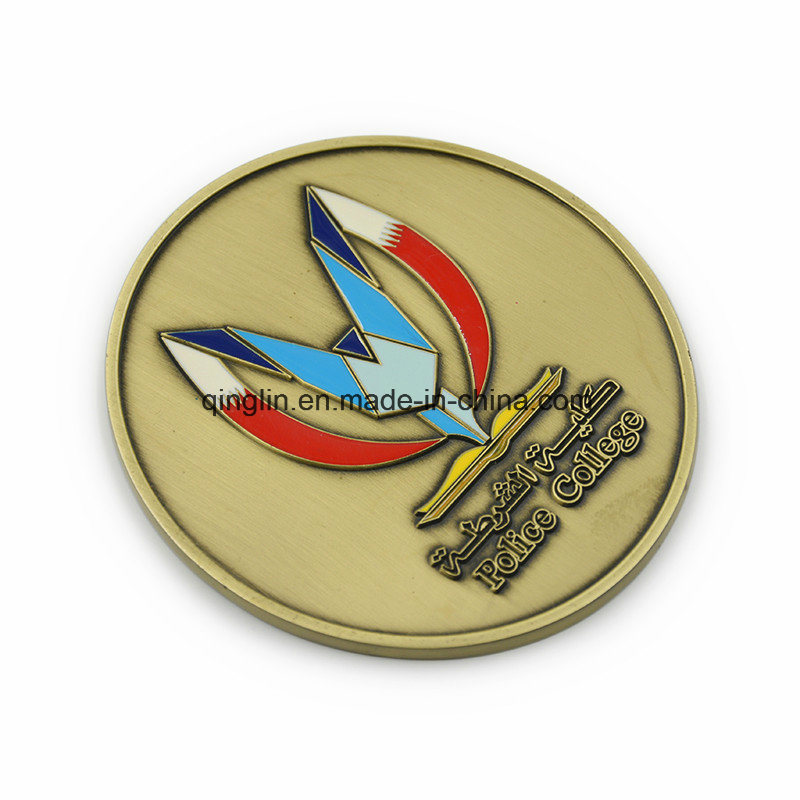 Custom Round Shape Medals for Souvenir Gift