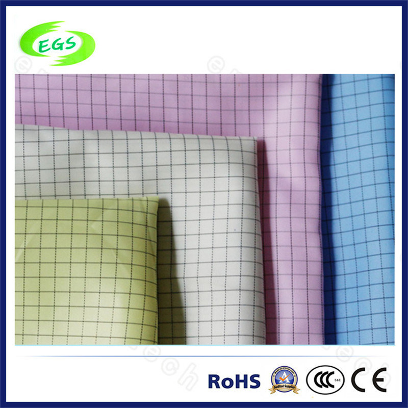 98% Polyester and 2% Carbon Fibre ESD Antistatic Fabric (EGS-530)