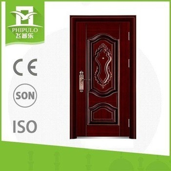 China Supplier Cheap Steel Security Door