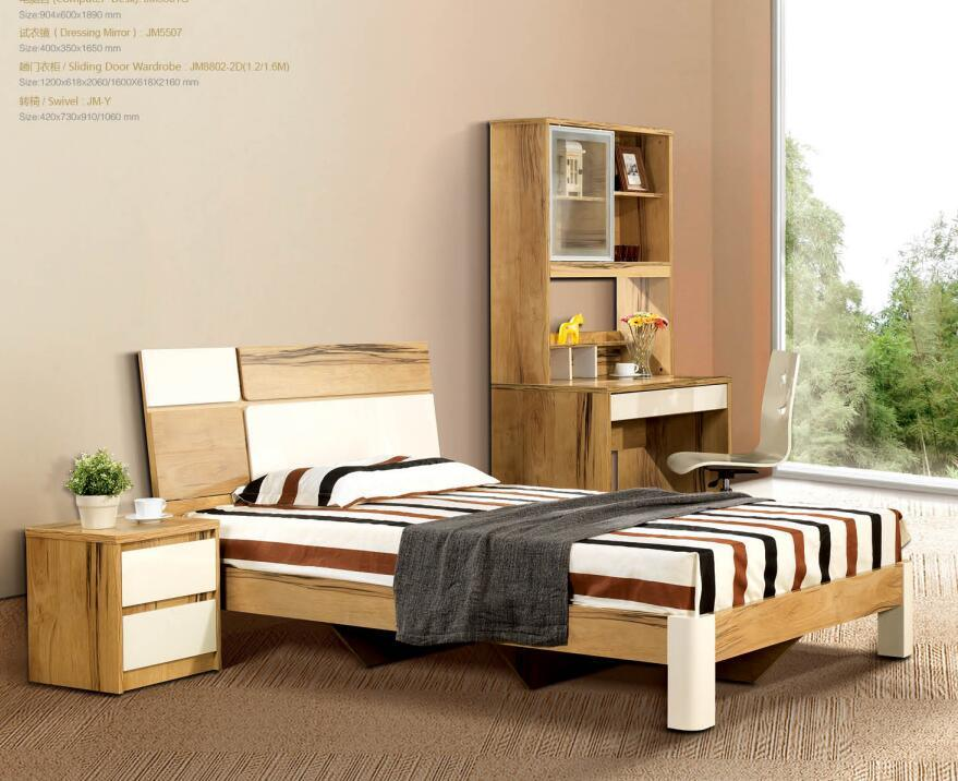 Mutral Choice for Bedroom Furniture System for Home and Hotel