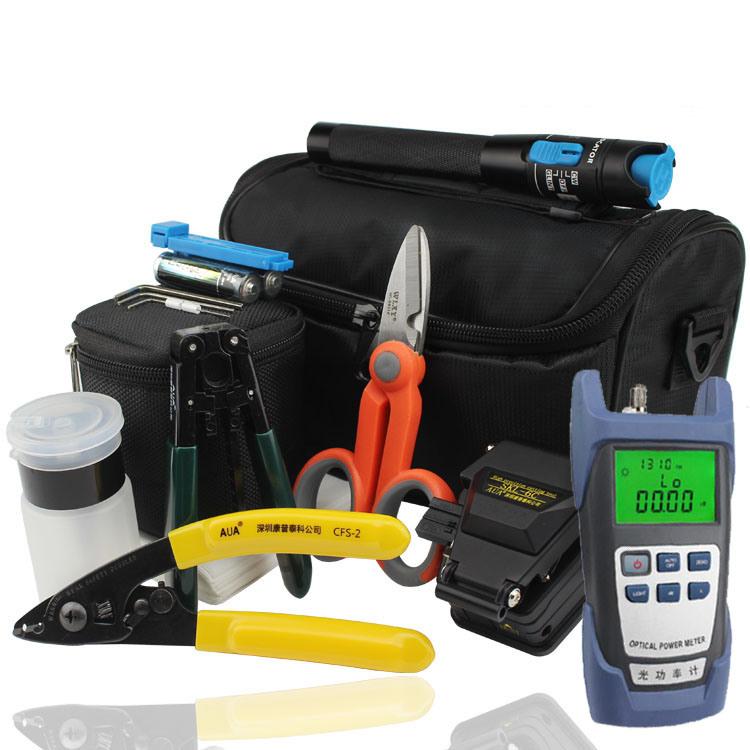 Striping 9 PCS Tools in a Bag FTTH Fiber Optic Cable Tools