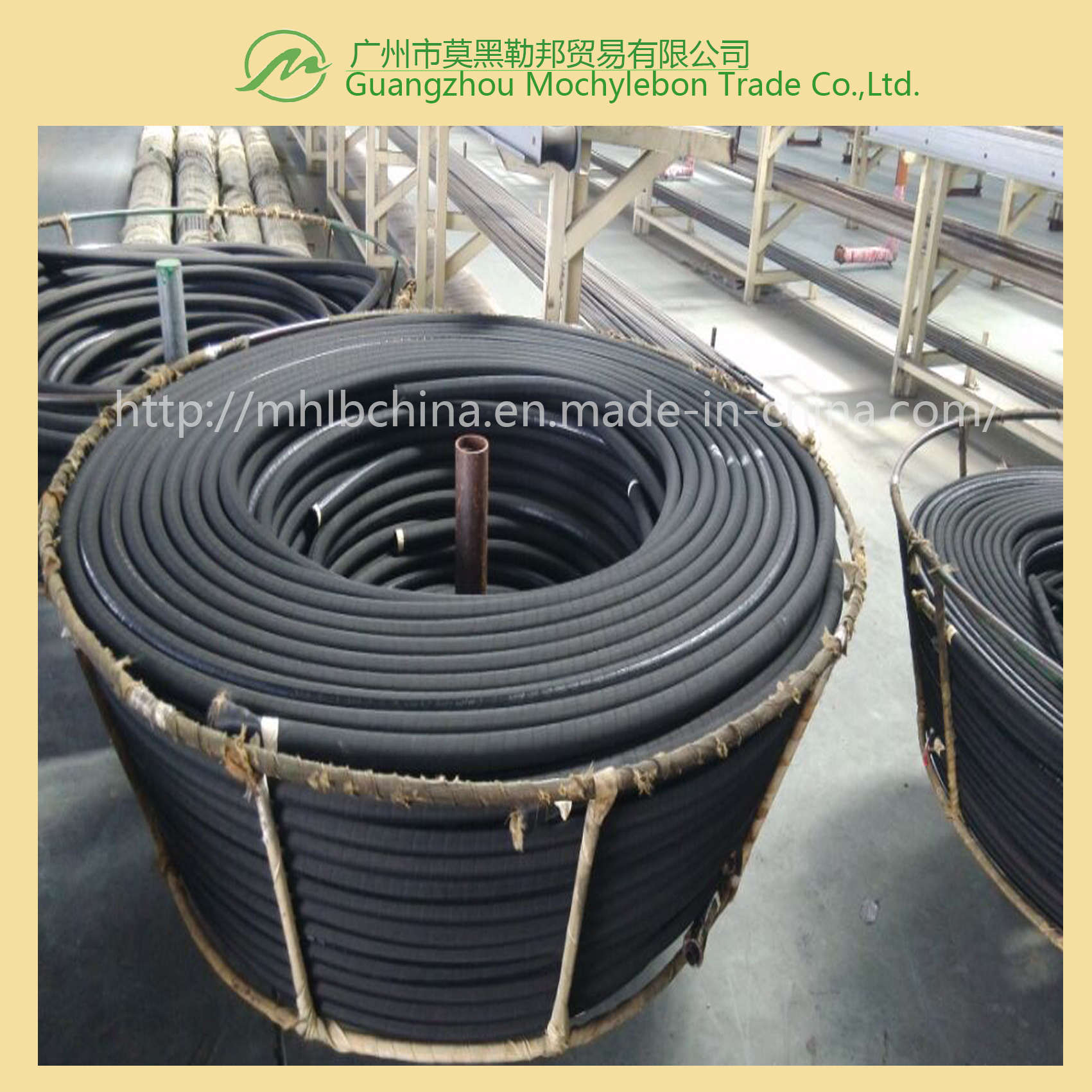 Wire Spiral Hydraulic Hose Fitting (EN856-4SP-1-1/4)